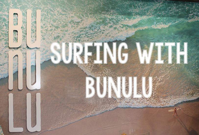 Surfing with Bunulu   Video   Awesome Giveaway