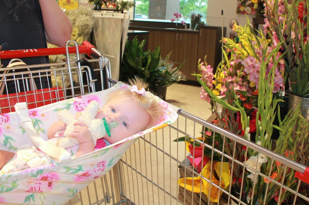 Shopping with Baby   Baby Hammock